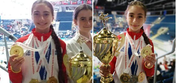 Turdeanca Maria-Simina Morar, din nou campioană mondială la karate!
