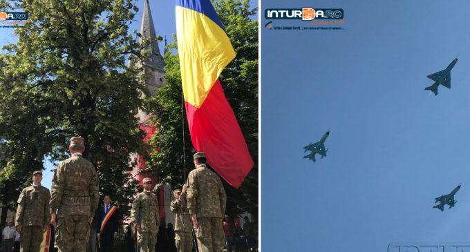 Foto/Video: Ziua Drapelului Național al României, marcată și la Turda