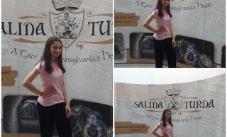 Laura Bretan, soprana cu voce de aur, în vizită la Salina Turda