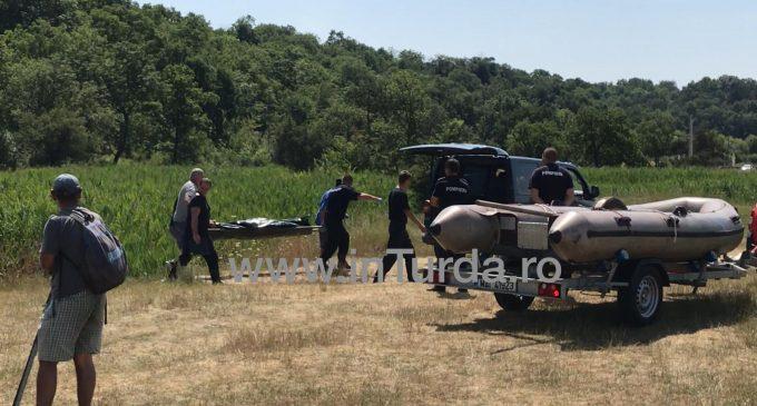VIDEO. Barbat decedat gasit in lacul Csiki din Turda