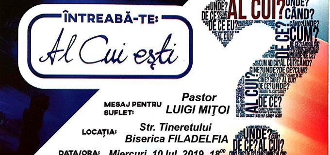 Grupul creştin Hristic va susţine un concert la Biserica Filadelfia Turda