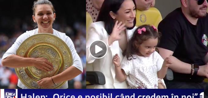 """VIDEO: Andra a cântat """"Deșteaptă-te, române!"""" pe Arena Națională, la ceremonia dedicată Simonei Halep"""