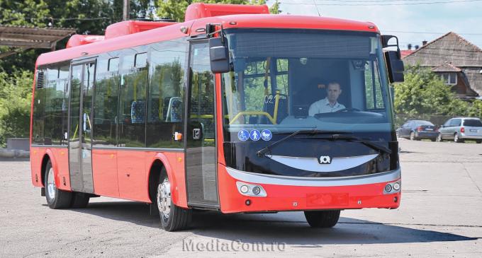 La Turda a ajuns și primul autobuz de dimensiune medie