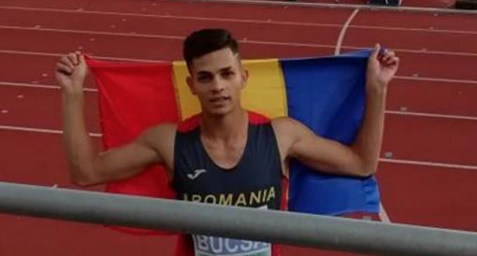 Samuel Bucșă a cucerit medalia de bronz la Europenele de U20
