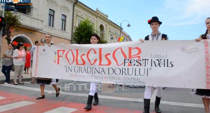 Start FESTIVAL! Vezi AICI programul primei zile a Festivalului de Folclor de la Turda
