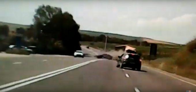 VIDEO: Cum s-a produs accidentul de ieri, 2 iulie 2019, de la intrare în Turda