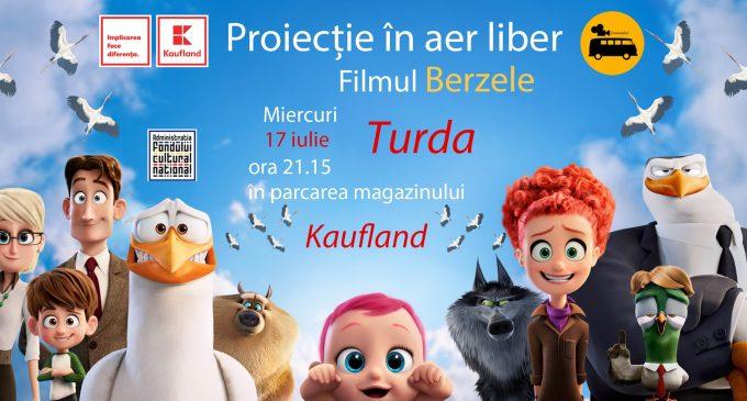Film în aer liber: Kaufland Turda