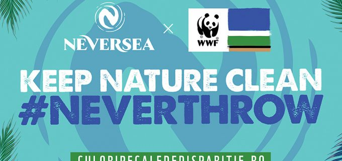 "NEVERSEA, PRIMUL BRAND AMBASADOR AL CAMPANIEI ""CULORI PE CALE DE DISPARIȚIE"" AL WORLD WIDE FUND FOR NATURE ROMÂNIA!"