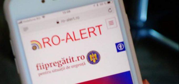 ISU Cluj recomandă configurarea telefoanelor mobile pentru aplicatia RoAlert