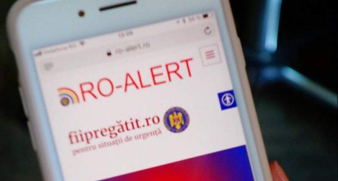 Atentie! Telefoanele mobile care se află în municipiul Turda vor primi ASTĂZI un mesaj #Ro-Alert