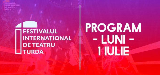 PROGRAMUL ZILEI la Festivalul International de Teatru Turda