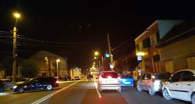 VIDEO: Accident grav la Turda! 4 mașini implicate și o victimă transportată la Spital
