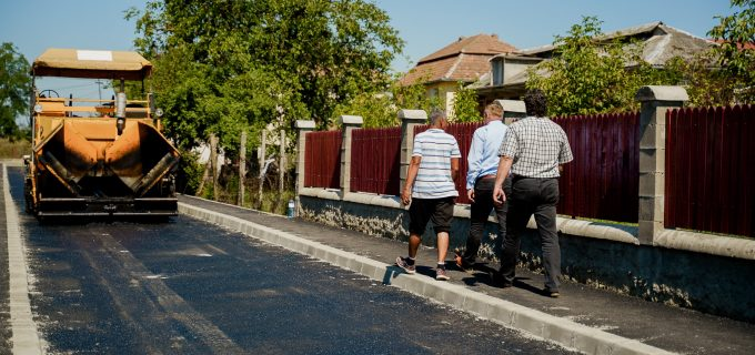 Vezi la ce lucrări de infrastructură se lucrează în aceste zile la Câmpia Turzii