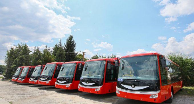 Cele 7 autobuze electrice vor fi prezentate cetătenilor în cadrul Zilelor Municipiului Turda!