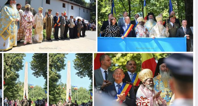 Foto/Video: Comemorarea marelui Voievod Mihai Viteazul