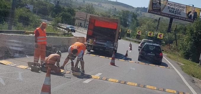 Limitatoare de viteză pe drumul Turda-Cluj! Șoferii au reacționat imediat