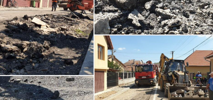 Alte două străzi din Câmpia Turzii sunt în curs de finalizare