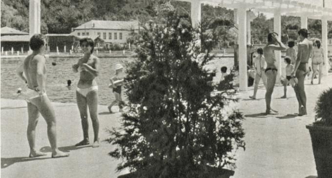 Galerie Foto: Policlinica, Uzina Chimica și Ștrandul – Turda, 1965