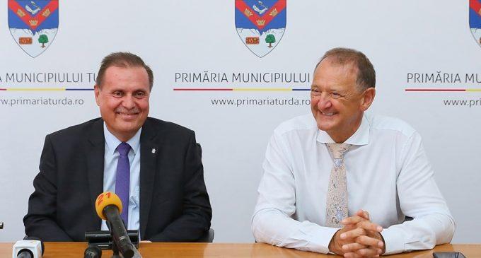 Ambasadorul Republicii Cehe, Excelența Sa Vladimír Valky a fost prezent astăzi la Turda