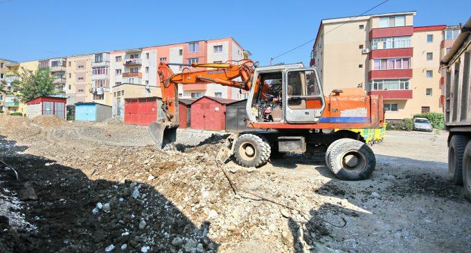 """Continuă lucrările din cadrul proiectului """"Reabilitare și modernizare infrastructură urbană în municipiul Turda – cartier Oprișani 3A"""""""