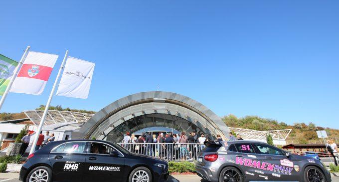Concurentele Women Rally 2019 au vizitat Salina Turda și Crama La Salina. Galerie FOTO