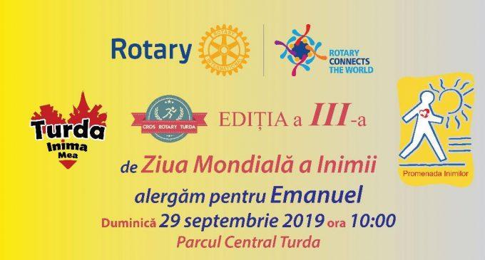 Duminică, 29 septembrie: Cros Rotary Turda, ediția a III-a