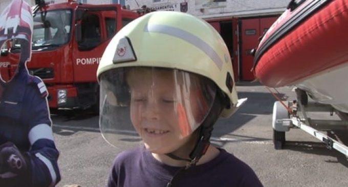 """""""Pompier pentru o zi"""" în Câmpia Turzii"""