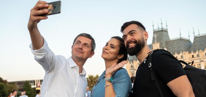Dan BARNA, candidatul Alianței USR-PLUS la președinția României, ajunge la Turda și Câmpia Turzii