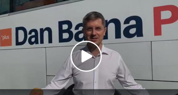Dan BARNA, candidatul USR-PLUS la președinția României, a ajuns la Turda!