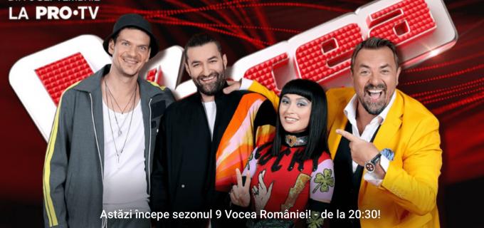 Astăzi incepe Vocea României! Cea mai buna competitie a vocilor se va auzi in casele tuturor romanilor
