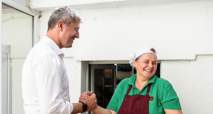 Dan Barna: Când a aflat că vine caravana în Turda, a vrut să ne întâlnim și să ne gătească prânzul, mie și colegilor mei…