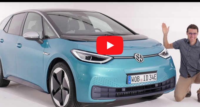 "VIDEO: Volkswagen a prezentat ""Golf-ul mașinilor electrice"", noul ID.3"