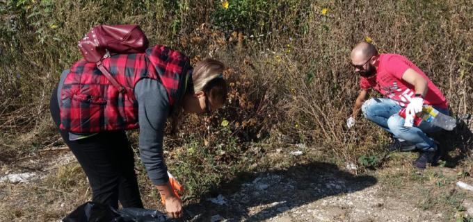 Acțiune de ecologizare în Cheile Turzii derulată de Consiliul Județean Cluj