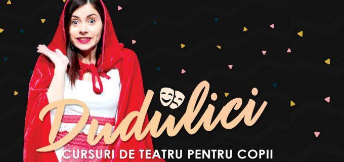 Actrița Alexandra Dușa organizează CURSURI DE TEATRU PENTRU COPII