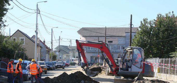 Încep lucrările pe încă două străzi din municipiul Turda!