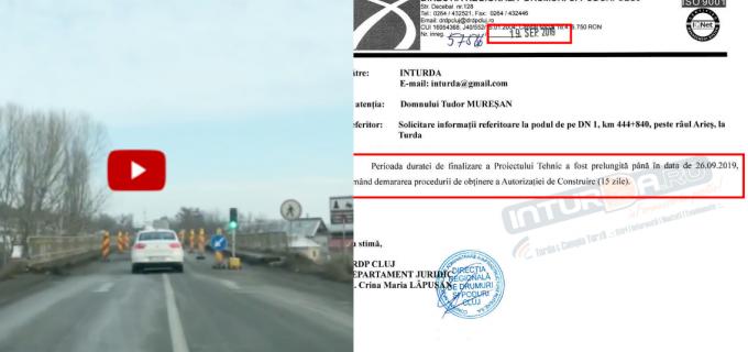 Răspunsul oficial din partea DRDP. Termen prelungit pentru Proiectul Tehnic privind reabilitarea podului de peste Arieș