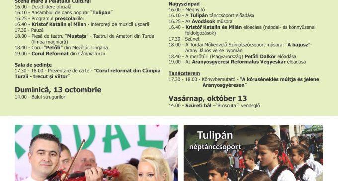 Manifestări cultural-artistice cu ocazia Zilelor Minorității Maghiare la Câmpia Turzii