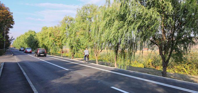 A fost aplicat marcajul rutier pe strada Constructorilor