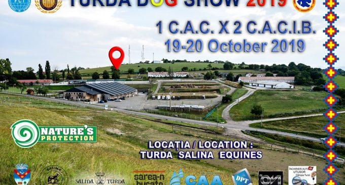 TURDA DOG SHOW, 19-20 octombrie, la Salina Equines