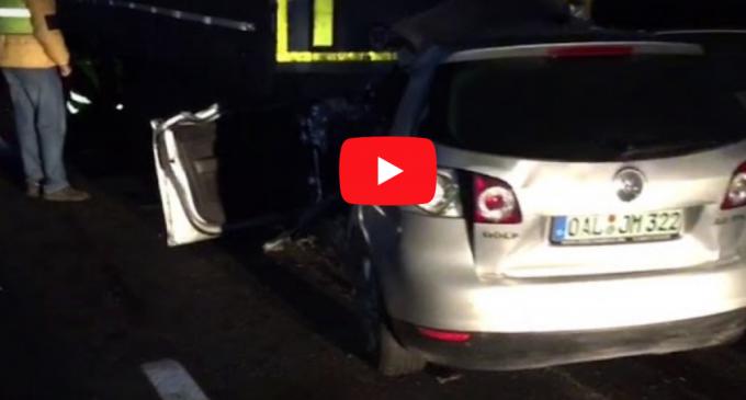 VIDEO: Accident mortal pe A3! Un tânăr de 20 de ani a murit sub roțile unui camion