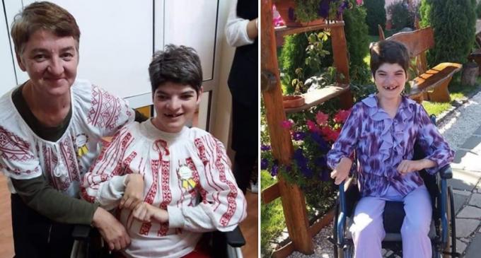 APEL UMANITAR. Ioana are 30 de ani si s-a nascut cu Tetrapareza spastica. Ioana are picioarele paralizate…