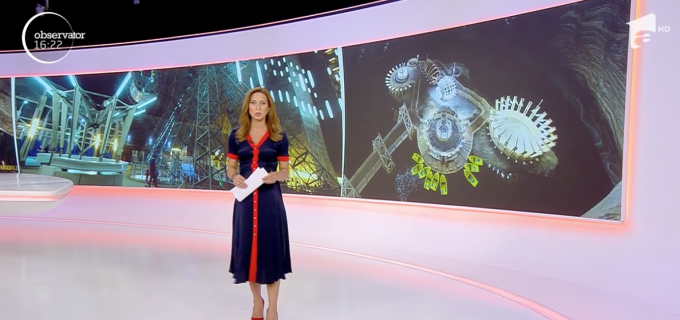 VIDEO. Salina Turda la Observator: Italienii adoră Salina de la Turda