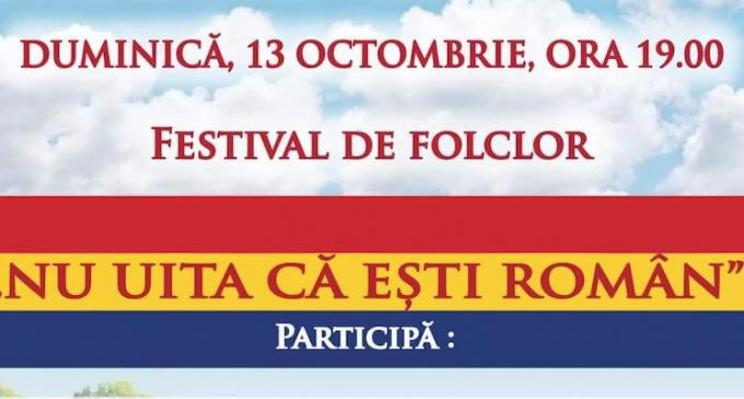 Duminică, 13 octombrie: Festival de folclor la Câmpia Turzii