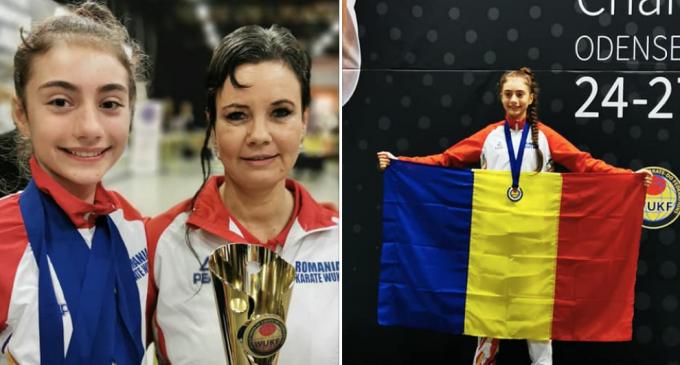 Turdeanca Maria Simina Morar, patru medalii de aur la nivel european!