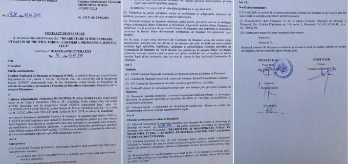 17 străzi din Cartierul Primăverii și limitrof acestuia vor fi asfaltate! Contractul a fost semnat