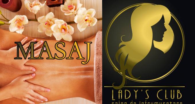 Locuiești în Turda și ai nevoie de un masaj? Vino la Salon Lady's Club
