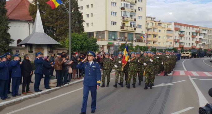 ZIUA ARMATEI ROMÂNE SĂRBĂTORITĂ LA CÂMPIA TURZII