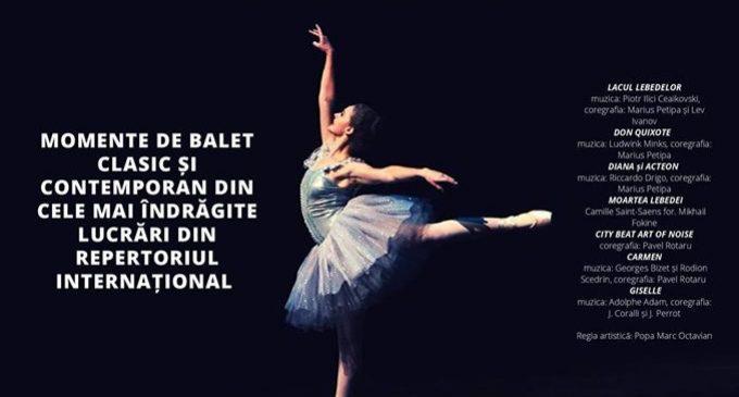 Gală extraordinară de balet, la Câmpia Turzii