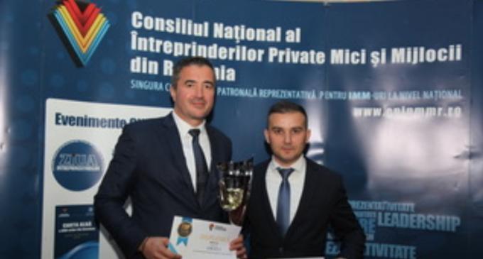 Compania Arhivatorul a luat premiul II la Topul Național al Firmelor și premiul I, acordat de Consiliul Național al Întreprinderilor Private Mici și Mijlocii din România