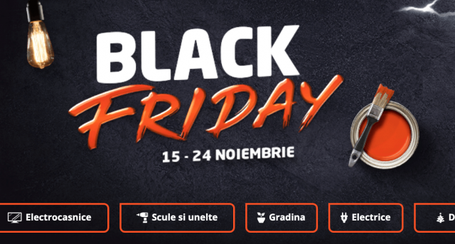 vânzare uriașă cel mai bun loc 50% preț Black Friday și la DEDEMAN! Vezi aici ofertele | inTurda.ro